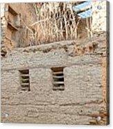 Mud Brick Village Acrylic Print