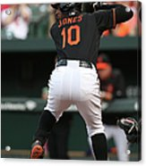 New York Yankees V Baltimore Orioles 9 Acrylic Print