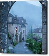 Saint Cirq-lapopie Acrylic Print