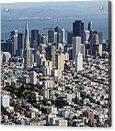 San Francisco, California Ca Acrylic Print