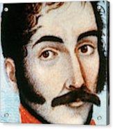 Simon Bolivar (1783-1830) Acrylic Print