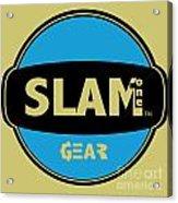 Slam One Gear Acrylic Print