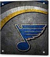 St Louis Blues Acrylic Print