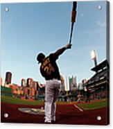 St Louis Cardinals V Pittsburgh Pirates Acrylic Print
