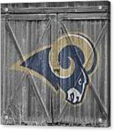 St Louis Rams Acrylic Print