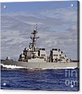 The Guided-missile Destroyer Uss Acrylic Print