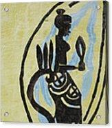 The Wise Virgin Acrylic Print