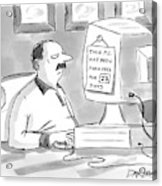 New Yorker June 27th, 2005 Acrylic Print