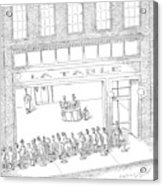 New Yorker February 13th, 2006 Acrylic Print