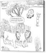 New Yorker April 24th, 2000 Acrylic Print