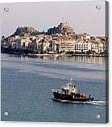Views From Corfu Greece Acrylic Print