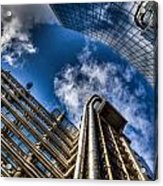 Willis Group And Lloyd's Of London Acrylic Print