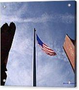 911 Tribute At Winslow Arizona Acrylic Print