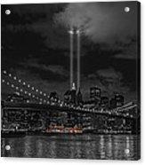911 Tribute Lights Acrylic Print