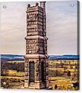 91st Pennsylvania Infantry Monument Acrylic Print