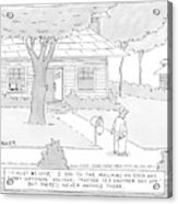 New Yorker July 7th, 2008 Acrylic Print