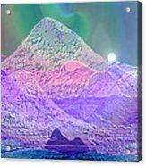 939 - Magic Mood  Mountain World Acrylic Print