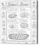 Doreen's Diner Acrylic Print
