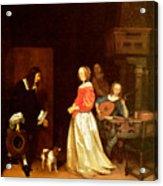 The Suitors Visit Acrylic Print