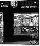 99 Cents - Worth Every Penny Acrylic Print