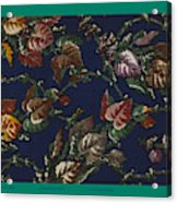 French Fabrics First Half Of The Nineteenth Century 1800 Acrylic Print