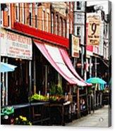 9th Street Italian Market Philadelphia Acrylic Print