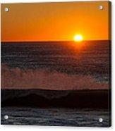 A Amazeing Sun Set Acrylic Print