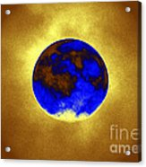 A Baking Planet Acrylic Print