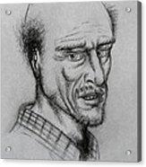 A Bald Guy Acrylic Print