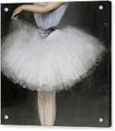 A Ballerina Acrylic Print