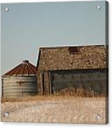 A Barn And A Bin Acrylic Print