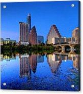 A Beautiful Austin Evening Acrylic Print
