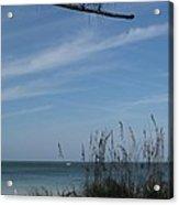 A Beautiful Day At A Florida Beach Acrylic Print
