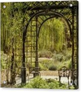 A Beautiful Place To Relax And Reflect Acrylic Print