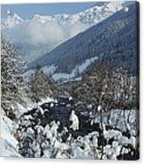 A Beautiful Winterday - Austrian Alps Acrylic Print