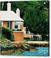 A Cottage In Bermuda # 1 Acrylic Print