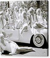 Inspirational Marilyn Acrylic Print