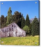A Bit Of Country Acrylic Print