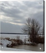 A Bleak Midwinter Day Acrylic Print