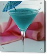 A Blue Hawaiian Cocktail Acrylic Print