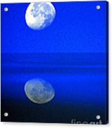 A Blue Moon. Acrylic Print