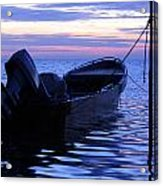 A Boat In The Morning Acrylic Print