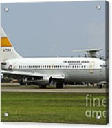 A Boeing 737-200 Of The Indonesian Air Acrylic Print
