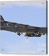 A Boeing B-52h Stratofortress Prepares Acrylic Print