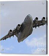 A Boeing C-17 Globemaster IIi Taking Acrylic Print