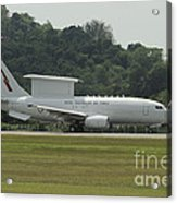 A Boeing E-7a Wedgetail Of The Royal Acrylic Print