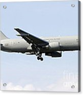 A Boeing Kc-767 Tanker Of The Italian Acrylic Print