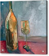 A Bottle Of White... Acrylic Print