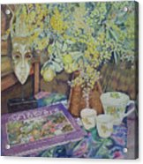 A Bouquet Of Flowers Acrylic Print