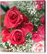 A Bouquet Of Roses For You Acrylic Print